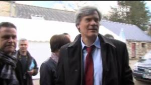 Visuel de la vidéo de la visite du Ministre Le Foll