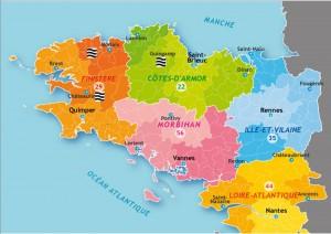 carte bretagne localisation site